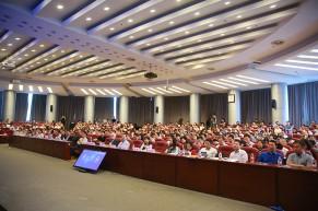 首届全国工程专业学位研究生教育混合式教学研讨论坛在清华大学举行