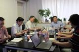 郑州高新区主管领导一行考察天业仁和